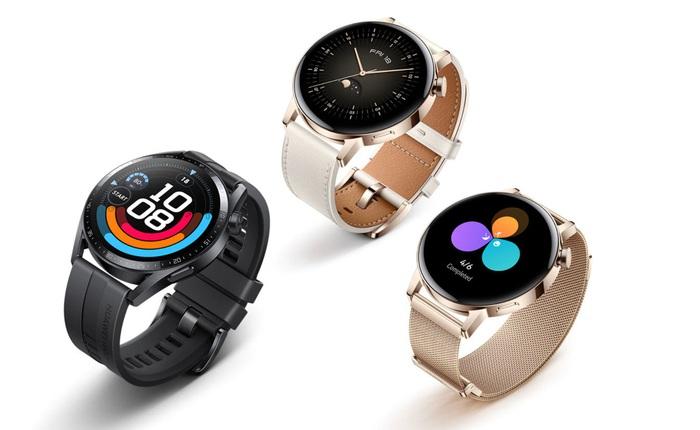 """Huawei Watch GT 3 ra mắt: Thiết kế cao cấp, chạy HarmonyOS, có """"núm"""" vặn như Apple Watch, giá từ 8.7 triệu đồng"""