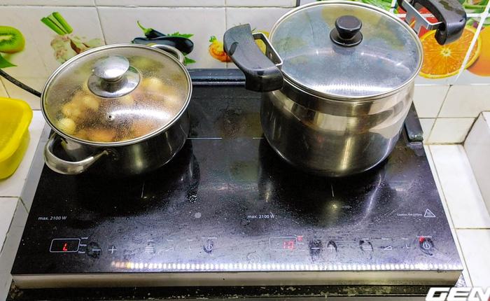 Tôi nấu 1 nồi chè đỗ đen bằng nồi ủ, hết hẳn 203 đồng tiền điện