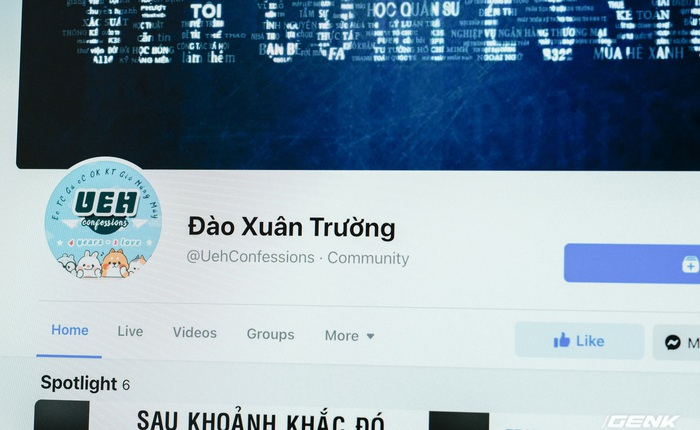 """Hàng loạt fanpage các trường đại học nổi tiếng bất ngờ bị đổi tên thành """"Đào Xuân Trường"""""""