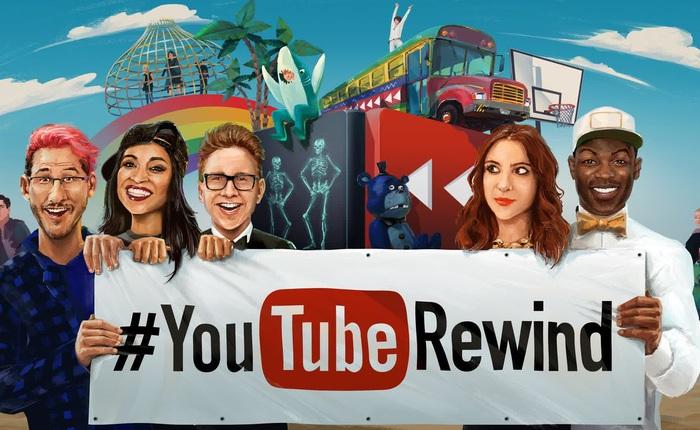 """""""Dính dớp"""" nặng, YouTube huỷ bỏ dự án YouTube Rewind sau chặng đường 10 năm"""