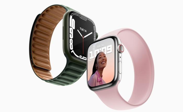 Apple Watch Series 7 chính thức mở bán, giá không đổi 399 USD