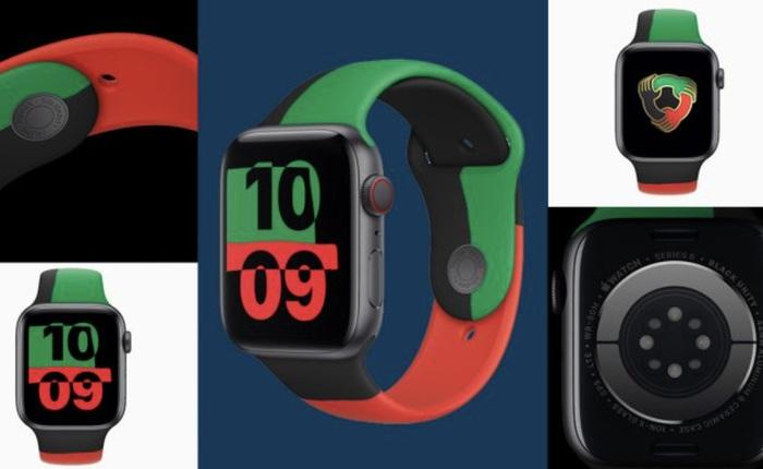 """Apple Watch Series 6 phiên bản """"chống phân biệt chủng tộc"""" ra mắt, giá từ 399 USD"""