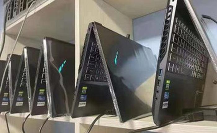 Thiếu nguồn cung card đồ họa, dân cày tiền ảo thu mua cả lô laptop về để khai thác tiền điện tử