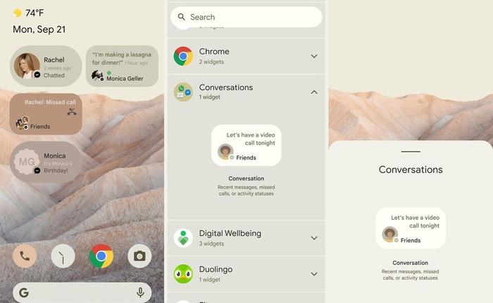 """Đây là Android 12 với giao diện hoàn toàn mới, nhiều tính năng """"bắt chước"""" iOS"""