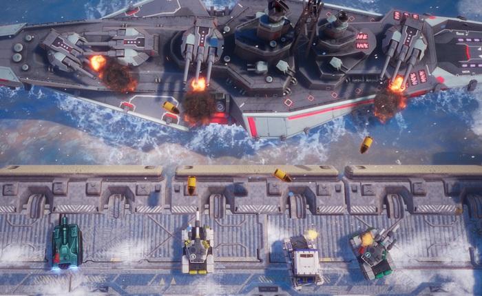 """Tank Brawl 2, game bắn tăng hoàn toàn do người Việt phát triển ra mắt vào 27/3: vũ khí đa dạng, môi trường phá hủy được, cho phép 4 người cùng """"phá đảo"""""""