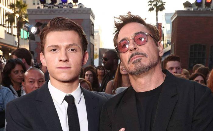 """Đi thử vai Spider-Man, Tom Holland hí hửng trò chuyện với """"chú Stark"""", nhưng hóa ra đó chỉ là diễn viên đóng thế cho Robert Downey Jr."""