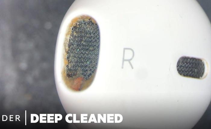 Làm thế nào để vệ sinh sạch sẽ một cặp tai nghe AirPods?