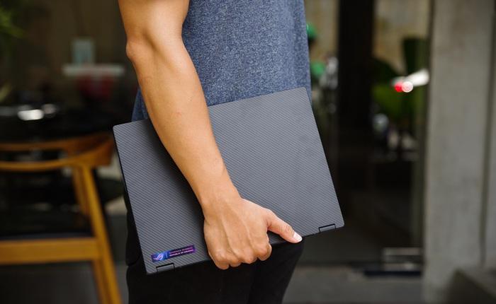 3 ngày dùng thử ASUS ROG Flow X13: Laptop chơi game giờ nhỏ gọn quá, không quen!