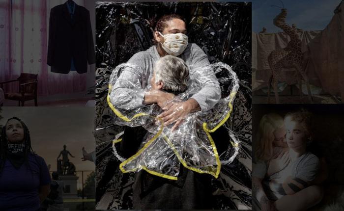 """""""Cái ôm thời dịch COVID-19"""" trở thành tác phẩm đạt Giải ảnh báo chí của năm 2021"""