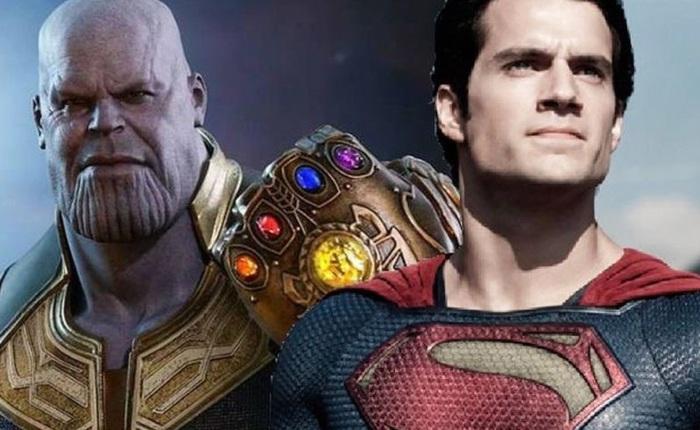 """Thử lên kèo """"Thanos v Superman"""" xem ai sẽ là kẻ chiến thắng"""