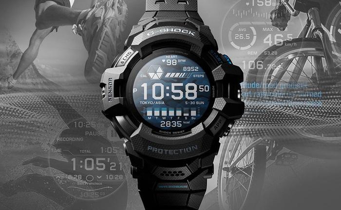Casio ra mắt smartwatch Wear OS đầu tiên thuộc dòng sản phẩm G-Shock, giá 699 USD