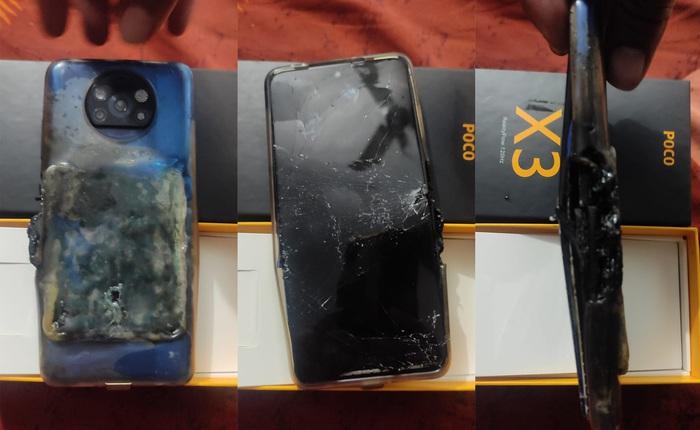 POCO X3 phát nổ khi đang sạc, Xiaomi chối bỏ trách nhiệm