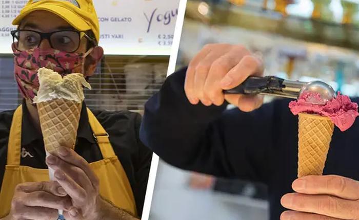 Ý: Làm kem điêu trá là tội ác, có thể sẽ phải lãnh phạt gần 280 triệu VND