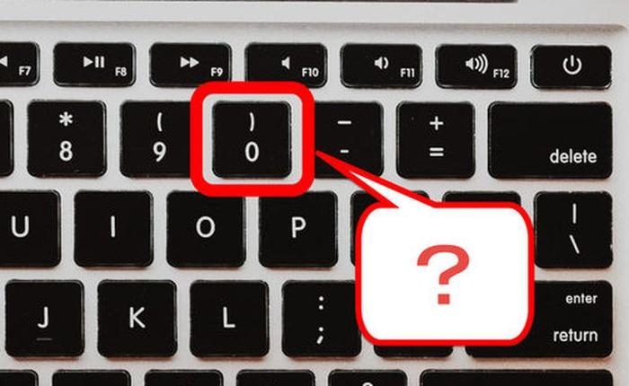Tại sao số '0' trên bàn phím nằm 'bên phải số 9' thay vì 'bên trái số 1'?