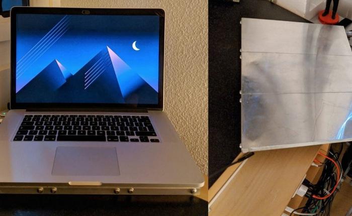 """Người dùng MacBook """"chế"""" thêm hệ thống làm mát bằng nước cho Macbook Pro, máy chạy vừa êm vừa khỏe"""