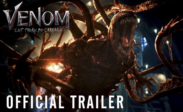"""Trailer Venom: Let There Be Carnage ra mắt, quái vật nhầy nhụa của Marvel sắp trở lại với phong thái """"lầy lội"""", hài hước hơn rất nhiều"""