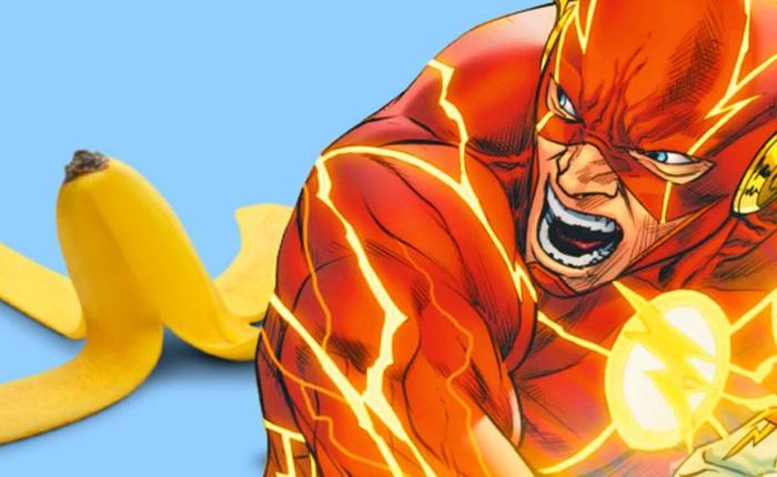Nỗi sợ lớn nhất của Flash: Đang chạy thì trượt vỏ chuối, bay luôn ra ngoài Trái Đất
