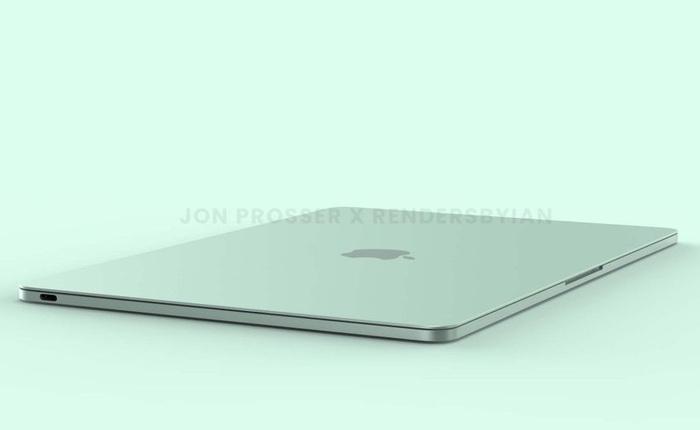 """MacBook Air mới lộ diện với thiết kế """"màu mè"""" giống iMac"""