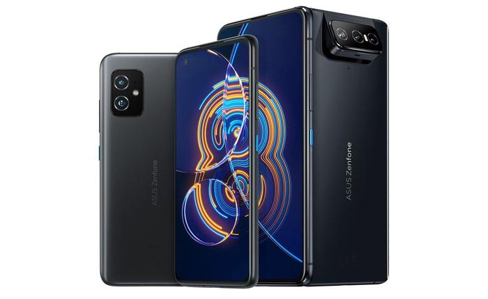 Asus ra mắt ZenFone 8 kích thước nhỏ gọn và ZenFone 8 Flip camera lật