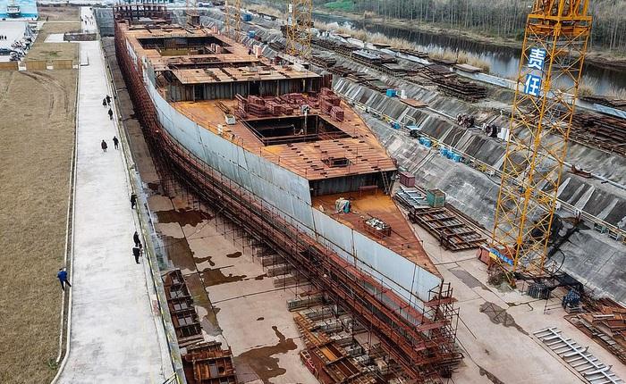 Trung Quốc đóng bản sao tàu Titanic huyền thoại, gọi đây là phiên bản 'không thể bị chìm'