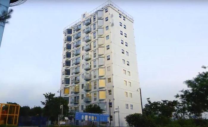 Tin được không: Tòa nhà cao 10 tầng này được dựng lên chỉ trong hơn một ngày?