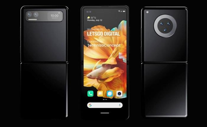 Đây có thể là chiếc smartphone màn hình gập đối đầu với Galaxy Z Flip của Xiaomi