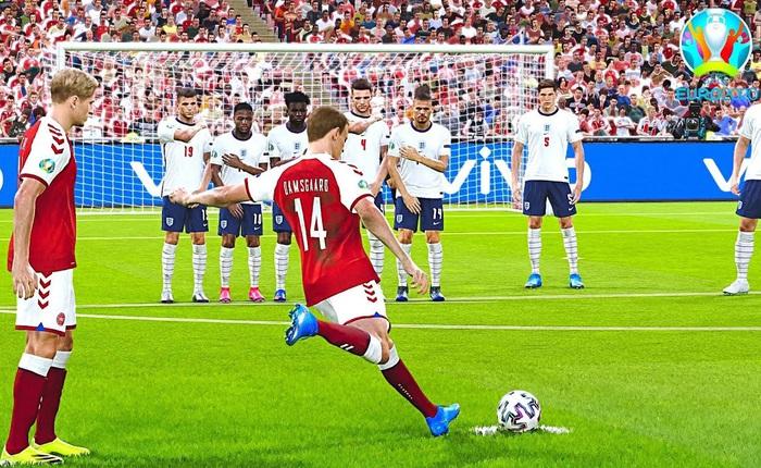 Chết cười với ông bác chăm chú theo dõi Euro 2020 mà không biết đó chỉ là 1 trận đấu giả lập trong game PES