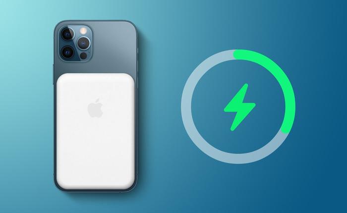Phụ kiện MagSafe Battery Pack kích hoạt khả năng sạc ngược không dây cho iPhone 12