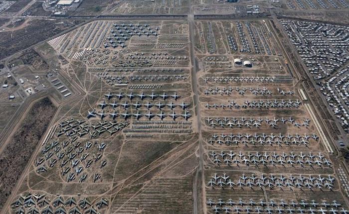 """Tham quan """"nghĩa trang"""" máy bay lớn nhất thế giới nơi gần 4000 chiếc máy bay đang yên nghỉ"""