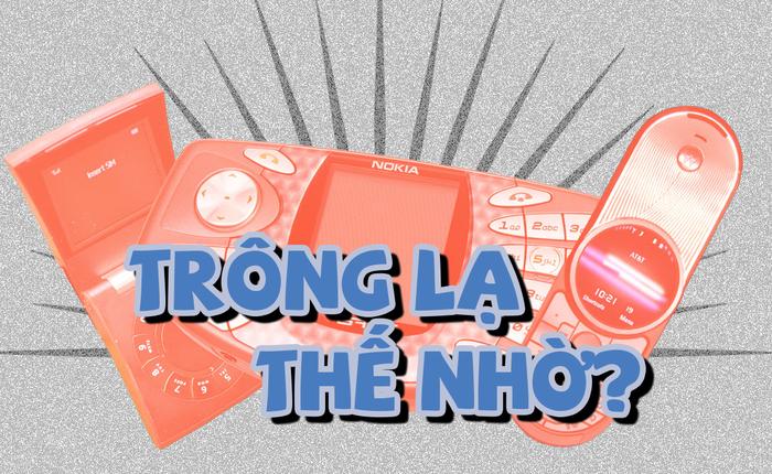 Quiz: Những mẫu điện thoại có thiết kế kỳ quái nhất từng được sản xuất, bạn biết được bao nhiêu?
