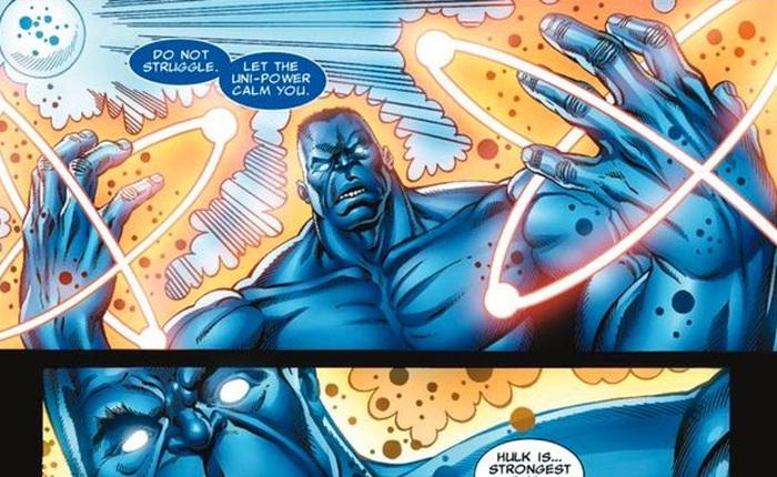 Từ Hulk xanh, Hulk đỏ, Hulk xám thì giờ đây chúng ta có cả Blue Hulk!