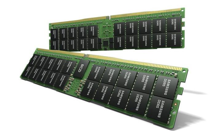 Samsung hé lộ module RAM DDR5 với bộ nhớ lên tới 512GB