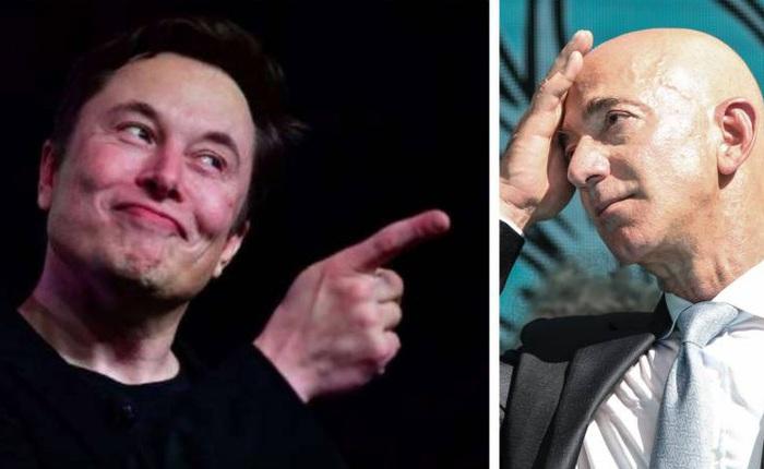 Bị Amazon ngáng đường dịch vụ internet vệ tinh Starlink, Elon Musk mỉa mai: Hóa ra ông Bezos nghỉ hưu chỉ để đi kiện