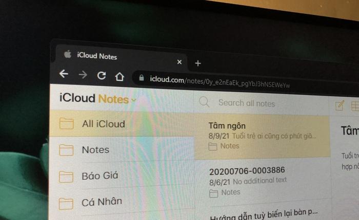 4 Cách dễ dàng để truy cập và chỉnh sửa các tài liệu Apple Notes trên Windows