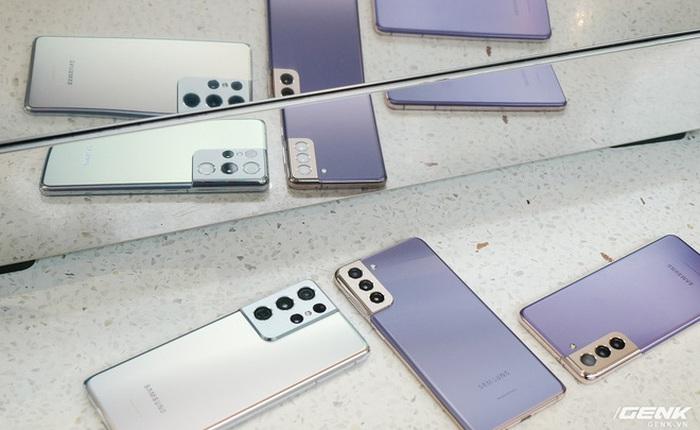Báo cáo: Doanh số bán hàng Galaxy S21 thấp hơn nhiều so với Galaxy S20 và S10