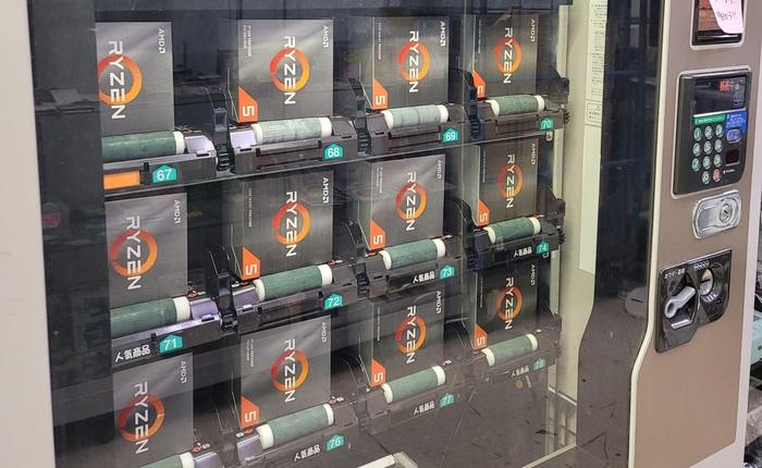 Nhật Bản: Bỏ 10 USD mua được AMD Ryzen 5000 tại máy bán hàng tự động, tưởng món hời nhưng hóa ra lại là cú lừa