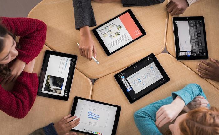 Trường nhà người ta: Toàn bộ sinh viên được cấp iPad Pro 5G, MacBook, AirPods Pro... để học tập