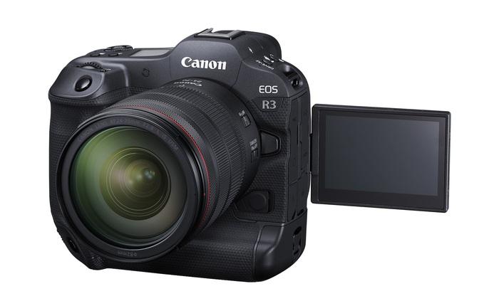 """Canon ra mắt """"quái vật"""" mirrorless EOS R3: Cảm biến 24MP, quay video 6K RAW, công nghệ lấy nét bằng mắt, giá 6000 USD"""