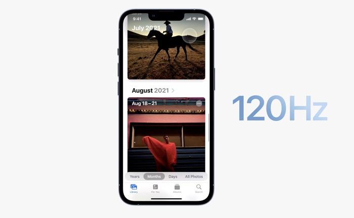 """Chào mừng đến với CLB 120Hz, mời iPhone 13 Pro gặp mặt những """"đàn anh"""" Android đã đi trước"""
