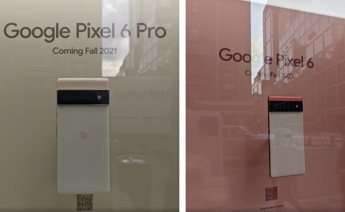 """Google """"show hàng"""" Pixel 6 và Pixel 6 Pro tại New York, chỉ cho ngắm, không cho chạm"""