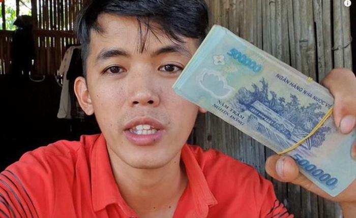 """Sau 2 năm, """"YouTuber nghèo nhất Việt Nam"""" kiếm được 2,5 tỷ đồng từ YouTube?"""