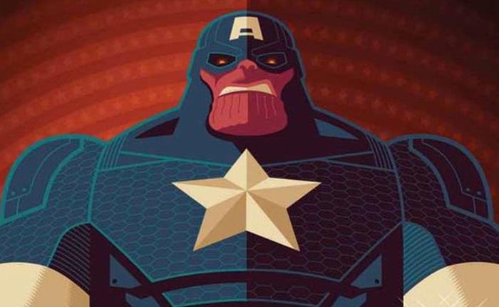 Sẽ ra sao nếu Thanos trở thành Captain America, kết hợp với Darkseid hay trở thành một vị vua già?