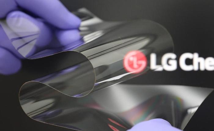 LG giới thiệu màn hình nhựa có thể gập lại mà vẫn cứng như màn hình bằng kính