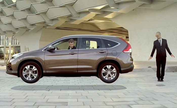 """Quảng cáo xe hơi """"siêu ảo"""" của Honda"""