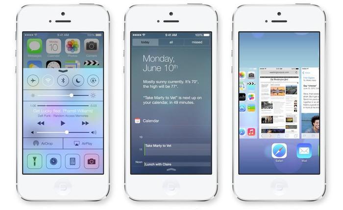 iOS 7 beta 3 sẽ phát hành vào ngày 8/7