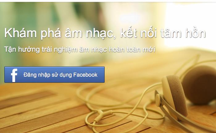 Dùng thử website tổng hợp nhạc Facebook thuần Việt