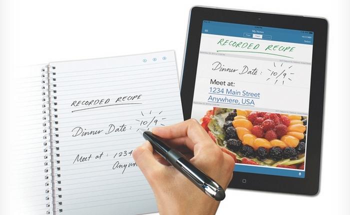 Livescribe 3: Bút viết chuyển dữ liệu trên giấy lên iPhone, iPad