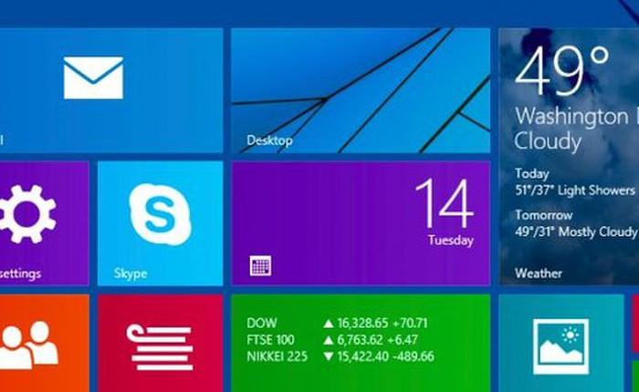 Những tinh chỉnh giúp bạn tiết kiệm thời gian trên Windows 8.1