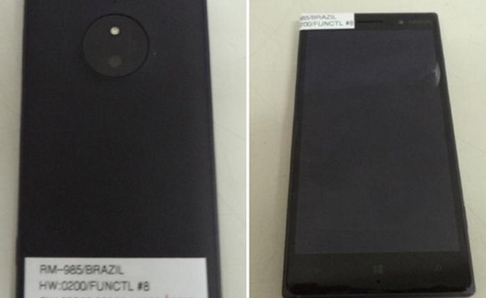 Ảnh thực tế Lumia 830: Thiết kế nam tính, cụm camera độc đáo