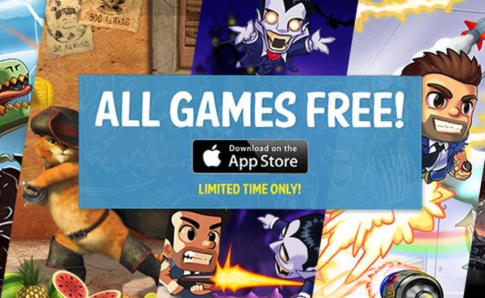 Halfbrick tặng hàng loạt game miễn phí trên App Store